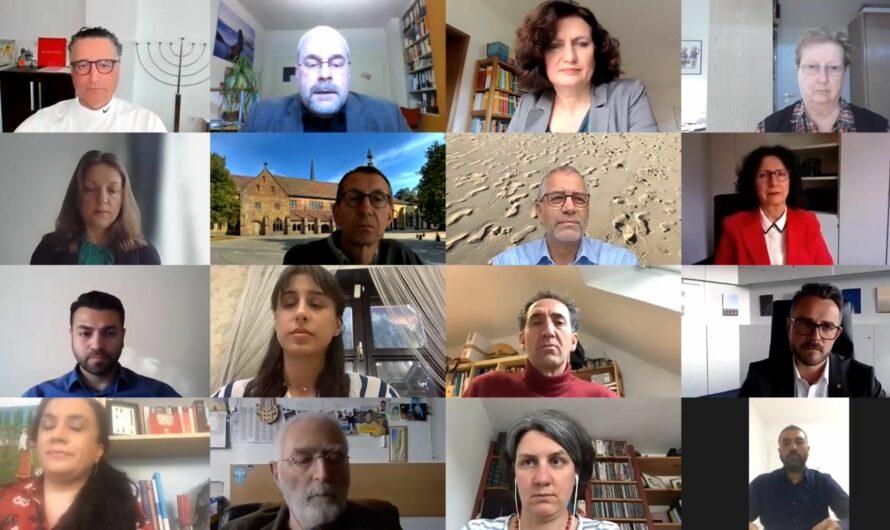 Friedensgebet und Statements zur aktuellen Lage im Nahen Osten